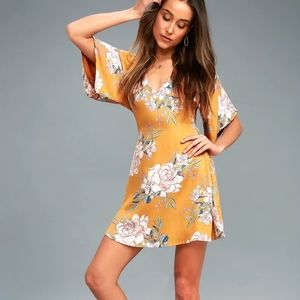 BILLABONG - NWT Golden Light Dress